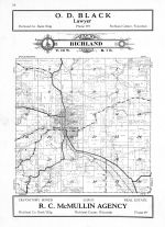 Richland Township, Richland County 1931